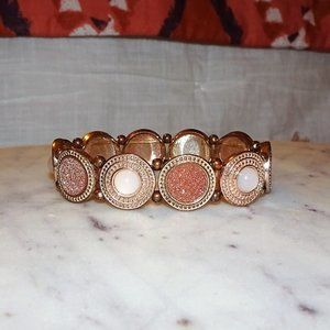 Francesca's Rose Gold Bracelet